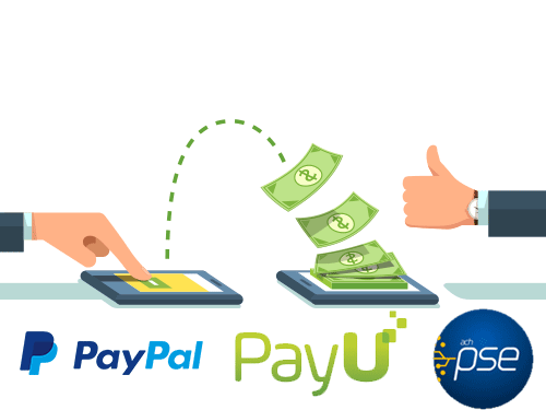 Collection software (web and mobile) - Online payments