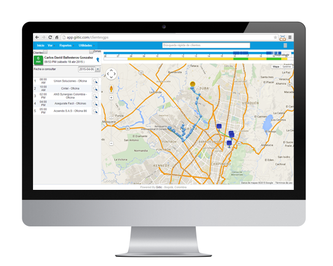 GPS monitor and plan routes for employees outside the company has never been easier