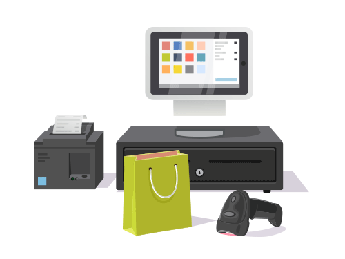 Software Point of Sale - Cash register administration