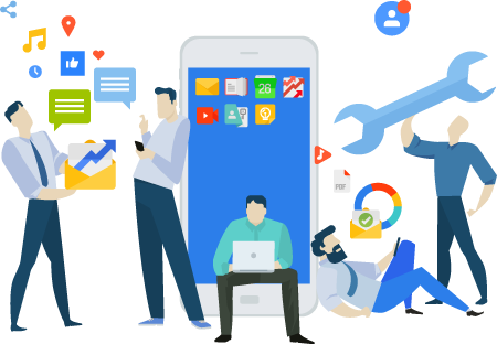 Development of software and web and mobile applications - MOBILE DEVELOPMENT